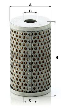 Hydraulický filter riadenia MANN+HUMMEL GmbH H 601/4