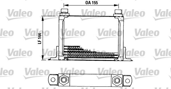 Chladič motorového oleja Valeo Service