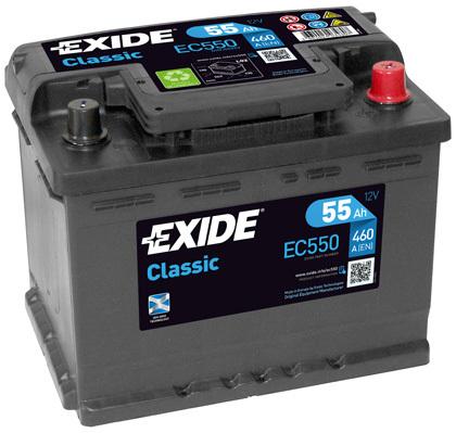 żtartovacia batéria EXIDE