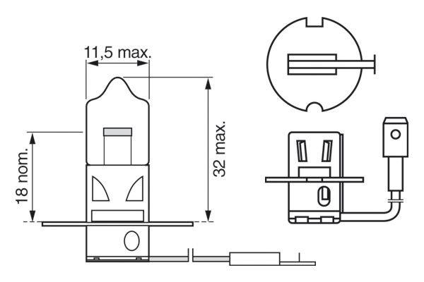 żiarovka pre diaľkový svetlomet BOSCH