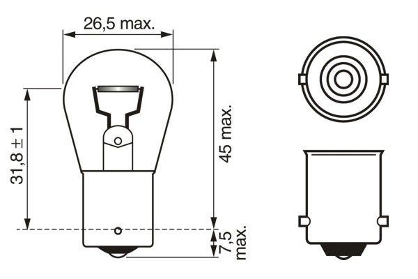 żiarovka pre smerové svetlo BOSCH