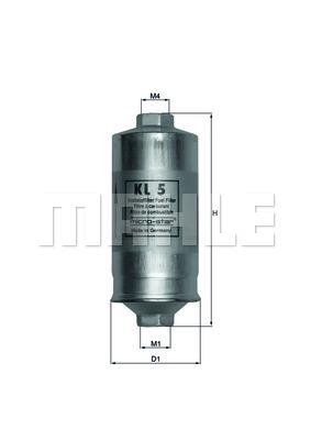 Palivový filter KNECHT Filterwerke GmbH