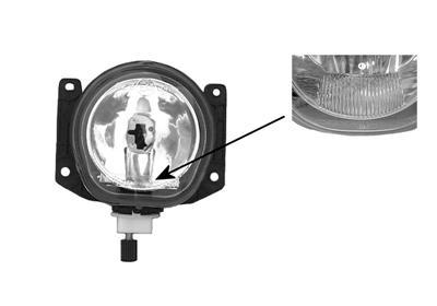 Hmlové svetlo VAN WEZEL AUTOPARTS BELGIUM