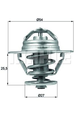 Termostat chladenia BEHR GmbH