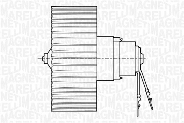 Vnútorný ventilátor MAGNETI MARELLI