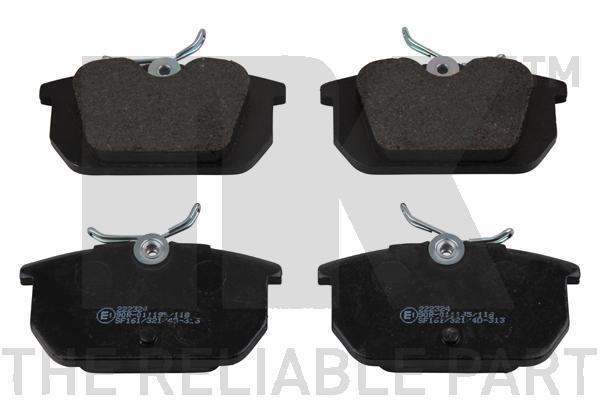 Sada brzdových platničiek kotúčovej brzdy NK Deutschland GmbH