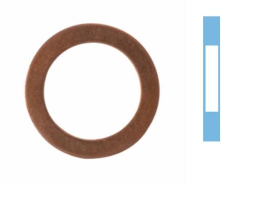 Tesniaci krúżok, vypúżżacia skrutka oleja CORTECO