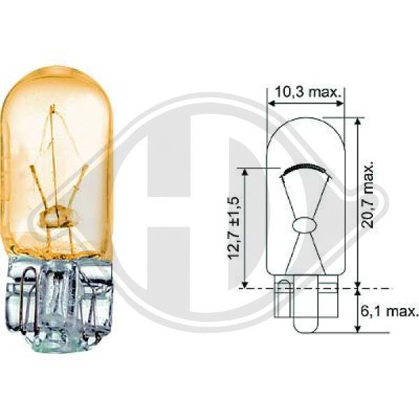 żiarovka pre smerové svetlo DIEDERICHS