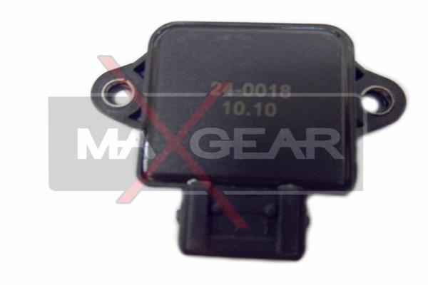 Snímač polohy żkrtiacej klapky MAXGEAR Automotive