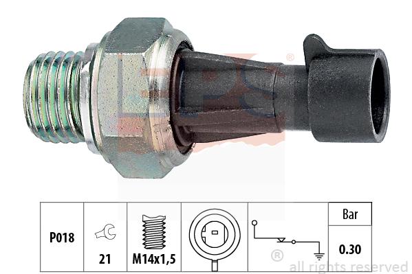 Olejový tlakový spínač EPS AUTOMOTIVE