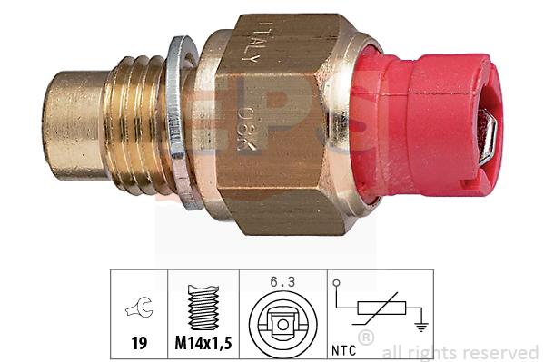 Snímač teploty oleja EPS AUTOMOTIVE