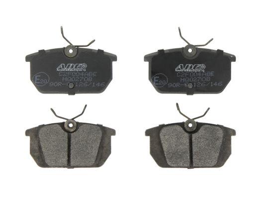Sada brzdových platničiek kotúčovej brzdy ABE Automotive Brake Engineering