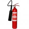 Prístroj hasiaci práškový ABC 6kg s manometrom
