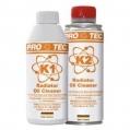 PRO TEC RADIATOR OIL CLEANER K1+K2-Čistič chladiaceho ...