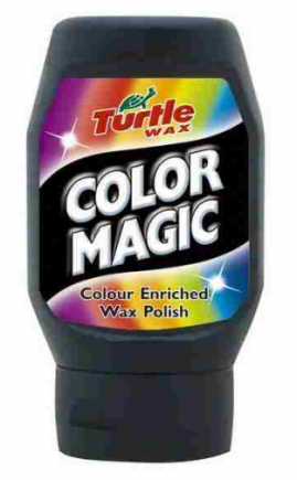 Farebný vosk COLOR MAGIC TURTLE WAX - Čierný 300ML