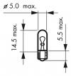 Žiarovka 12V W1,2W HART