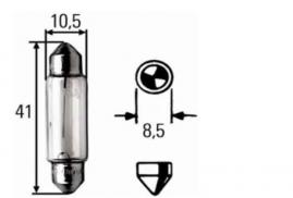 Žiarovka 12V 18W SV8,5 HELLA
