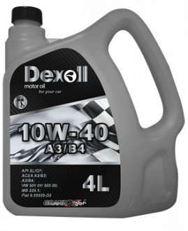 Dexoll 10W-40 A3/B4 4L