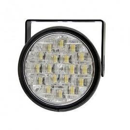 KEETEC Svetlá prídavné LED 12V/24V exteriér okrúhle 90x69 mm