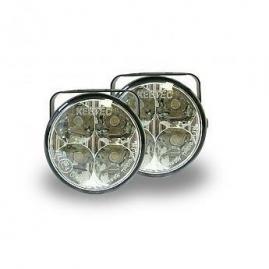 KEETEC Svetlá prídavné LED okrúhle 12/24V 70x52,3 mm
