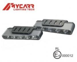 Svetlá prídavné LED diódové 12Vexteriér 160x25,5x55,14mm
