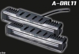 Svetlá prídavné LED(4x3W) s optickým svetlovodom 177,4x30x40mm