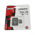 Karta SDHC 16 GB s SD adaptérom, class 10 KINGSTON