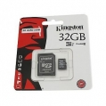Karta SDHC 32 GB s SD adaptérom, class 10 KINGSTON