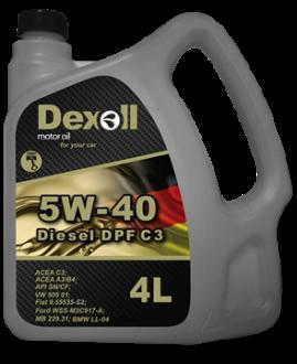 Dexoll 5W-40 Diesel DPF C3 4L