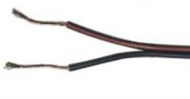 Autokábel dvojžilový 2x0,75mm červenočierny (1m)