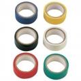 Páska PVC izolačná farebná 15mm (sada 6ks)