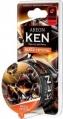 Osviežovač AREON KEN blister BLACK CRYSTAL (čierny ...