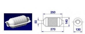 NOVAK Katalyzátor UNI 50x270mm okrúhly (diesel/TDI/CDI ...