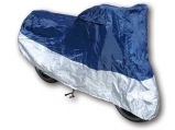 Plachta size XL, Polyester, blue/silver