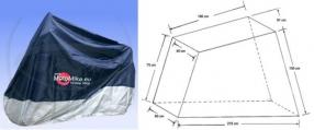 Plachta size 500 cmc blue/silver