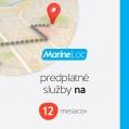 Predplatné služby MARINE Loc EU 12