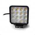 LED pracovné svetlo hranaté 12V/48W, 16LED, ...