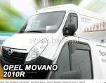 Deflektory (krátké) na Opel Movano, 2-dverová, ...