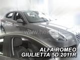 Deflektory na Alfa Romeo Giulietta, r.v.: 2010 ...