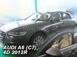 Deflektory na Audi A6 C7, 4-dverová, r.v.: 2011 ...