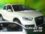 Deflektory na Audi Q3, 5-dverová, r.v.: 2011 ...