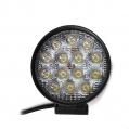 LED pracovné svetlo okrúhle, 12V/42W, 14LED, ...