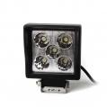 LED pracovné svetlo hranaté, 12V/15W, 5LED, ...