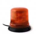 Oranžový maják s úchytom na magnet, 10LED ...