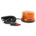 Oranžový maják s úchytom na magnet, 8LED B16-MAG-A