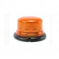 Oranžový maják s 3-bodovým úchytom,11-110V, ...