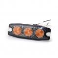 Pozičné výstražné svetlo, 3LED,12-24V, oranžové ...