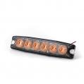 Pozičné výstražné svetlo, 6LED, 12-24V, oranžové ...