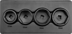 Sada nadstavcov na olejové filtre 4 ks YATO   YT-0598
