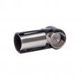 Anténny adaptér ISO-DIN, krátky, lomený AA-703